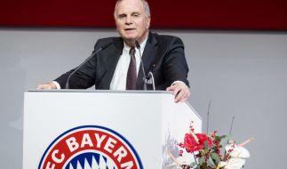 Uli Hoeneß ist zurück als Präsident des FC Bayern - sehr zur Freude der Fans. (Foto)