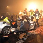 Drei Tote bei Unfall: War ein Geisterfahrer schuld? (Foto)