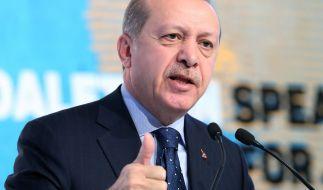 Erdogan denkt nicht daran, im Streit mit der EU nachzugeben. (Foto)
