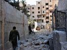 Syrische Rebellen wollen nicht aufgeben