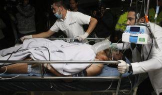 Bei einem Flugzeugunglück in Brasilien starben 76 Menschen - an Bord war auch das brasilianische Fußballteam Chapecoense. (Foto)