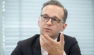 Bundesjustizminister Heiko Maas (SPD) will härtere Strafen bei Gewalttaten gegen Polizisten durchsetzen. (Foto)
