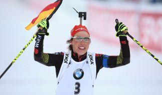Laura Dahlmeier. (Foto)