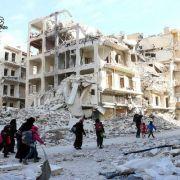 Erbitterter Kampf um Aleppo - droht eine neue Flüchtlingskrise? (Foto)