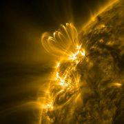 Forscher warnen vor Mega-Sonnenstürmen im Jahr 2020 (Foto)