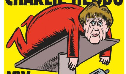 """""""Charlie Hebdo"""" auf Deutsch - und mit Angela Merkel"""