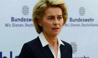 Ursula von der Leyen will Schulabbrecher und EU-Ausländer in die Bundeswehr holen. (Foto)