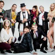 So feierte Berlins wohl coolste WG in das neue Jahr (Foto)