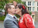 """Siegfried und Elke können sich bei Vera Int-Veen bedanken - durch """"Schwiegertochter gesucht"""" haben die einsamen Herzen zueinander gefunden. Jetzt wird im Finale der 10. Staffel geheiratet! (Foto)"""