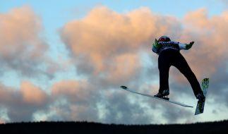 Skispringen in Klingenthal. (Foto)