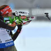 Biathlon-Verfolgung in Östersund: Arnd Peiffer sichert sich vierten Platz (Foto)