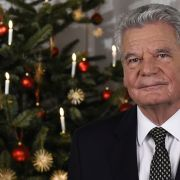 Joachim Gaucks letzte Weihnachtsansprache im Wortlaut (Foto)