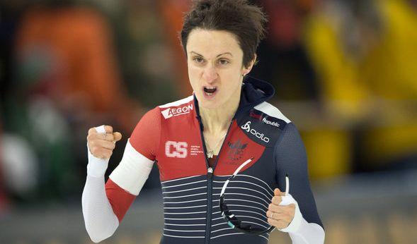 Die tschechische Eisschnellläuferin Martina Sáblíková ist ein Multitalent. Auf der Eisbahn hat sie 5 Olympische Medaillen und 21 WM-Medaillen gewonnen. Sie ist außerdem aktiv im Speedskating und Radrennen.