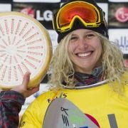 Die US-amerikanische Snowboarderin Lindsey Jacobellis hat bei den Winter-X-Games neun Goldmedaillen gewonnen. Der BoarderCross ist ihre Spezialdisziplin.