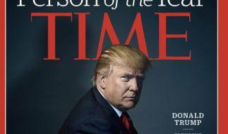 """Das derzeit wohl meistdiskutierte Zeitschriftencover der Welt: Donald Trump auf dem Cover der aktuellen Ausgabe des """"Time""""-Magazine. (Foto)"""