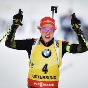 Dahlmeier holt neunten Weltcupsieg, Gössner knackt die WM-Norm (Foto)