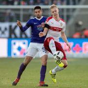Zweitliga-Tabellenführung futsch: Stuttgart verliert 1:2 gegen Hannover (Foto)