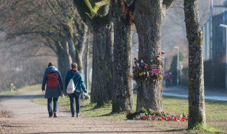 Tatort an der Dreisam in Freiburg: Hier wurde Maria L. umgebracht. (Foto)