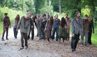 """Rick, Ezekiel, Negan. Ist da überhaupt noch Platz für die Zombies von """"The Walking Dead""""? (Foto)"""