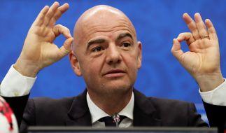 Fifa-Präsident Gianni Infantino möchte die Weltmeisterschaft aufstocken. (Foto)