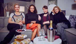 Die Prominenten-Kandidatinnen der aktuellen Show: Britt Hagedorn, Milka Loff Fernandes, Nina Vorbrodt und Michaela Schaffrath. (Foto)