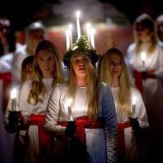 Das schwedische Lichterfest, seine Tradition, Geschichte und Ursprung (Foto)