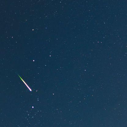 Magisch-schöner Geminiden-Schauer erleuchtet den Himmel (Foto)