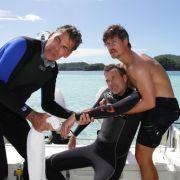 Ein lebensgefährlicher Tauchgang für Dirk Steffens auf Palau (Foto)