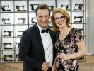 Guido Maria Kretschmer und Inge Szoltysik-Sparrer. (Foto)