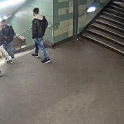 Fahndung nach U-Bahn-Treter spät begonnen - nur warum? (Foto)
