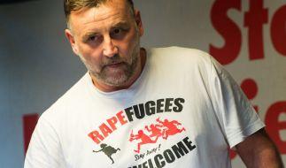 Lutz Bachmann wetterte gegen den Verein. (Foto)