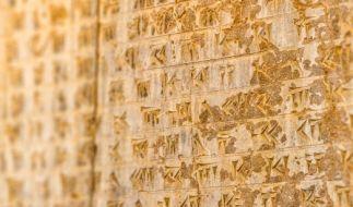 Tontafeln der Babylonier liefern für Wissenschaftler wichtige Fakten. (Foto)