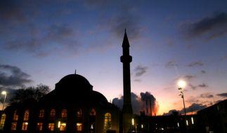 Die Merkez-Moschee in Duisburg-Marxloh in Nordrhein-Westfalen. (Foto)