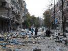 Noch immer harren Zehntausende Menschen im umkämpften Aleppo aus. (Foto)