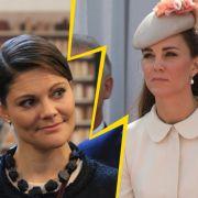 Herzogin Kate sauer auf Victoria von Schweden - DAS ist der Grund (Foto)