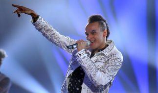 """Prince Damien tritt als Gewinner von """"Deutschland sucht den Superstar"""" 2016 in der Chart-Show auf. (Foto)"""