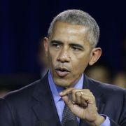 Obama kündigt Vergeltung für Hackerangriffe an (Foto)