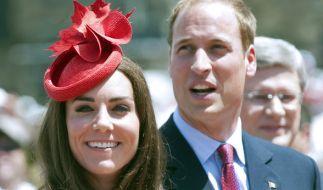 Kate und William haben ihre eigene Vorstellung von einem schönen Fest. (Foto)