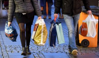 An Neujahr haben in Deutschland keine Geschäfte geöffnet. (Foto)