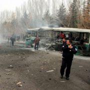 Mindestens 13 Menschen bei Anschlag in der Türkei getötet (Foto)