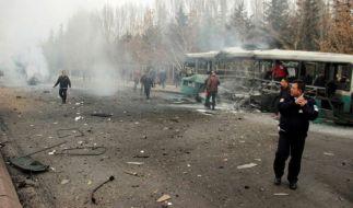 Bei einem Bombenanschlag in der Türkei starben mindestens 13 Menschen. (Foto)