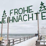 Kälte und Schnee? Warme Luft aus Spanien statt weißer Weihnacht (Foto)