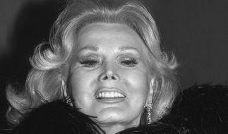 Die Schauspielerin Zsa Zsa Gabor ist im Alter von 99 Jahren verstorben. (Foto)
