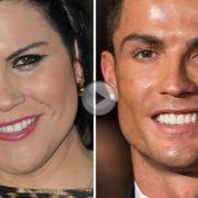 Angeblich hat sich Ronaldo mit seiner Schwester verkracht.