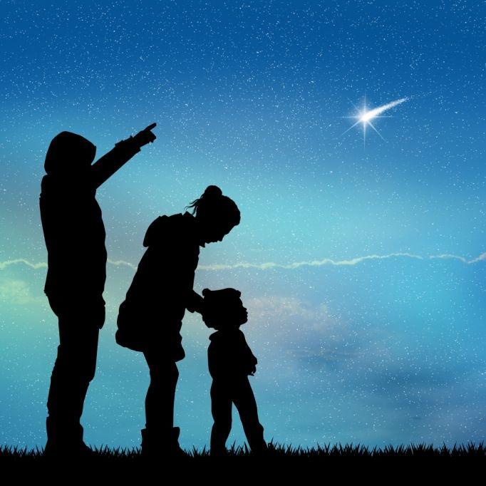 So sehen Sie Sternschnuppen an Weihnachten (Foto)