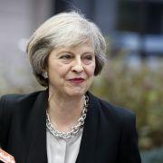 Sie will Großbritannien aus der EU führen: Premierministerin Theresa May.