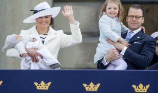 Die Schweden-Royals senden auch in diesem Jahr wieder Weihnachtsgrüße an ihr Volk. (Foto)