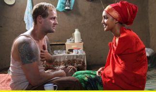 Frank Michalka (Jürgen Vogel) und seine Frau Ayantu (Sayat Demissie). (Foto)