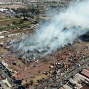 Explosion auf Markt für Feuerwerk - Zahl der Toten steigt auf 31 (Foto)