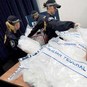 Polizei findet Kokain im Wert von 42 Millionen Euro (Foto)